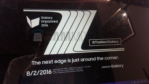 Samsung Galaxy Note 7: Präsentation soll am 2. August stattfinden