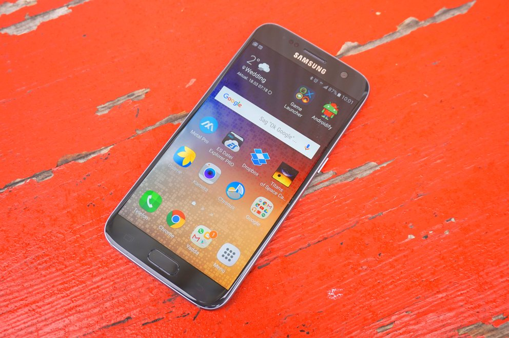 Samsung Galaxy S7 (edge): Grace UX und neues Always-On-Display mit Update auf Android 7.0