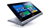 Samsung Notebook 7 Spin: Windows-10-Convertible mit Fast Charging vorgestellt