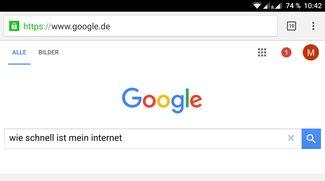 Google arbeitet an eigenem Internet-Speedtest-Tool