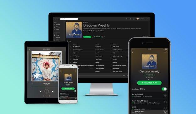 Spotify zählt 100 Millionen aktive Nutzer pro Monat