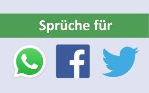 Sprüche für Facebook, WhatsApp und Co.: Von lustig über nachdenklich bis traurig