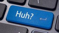 Tastenkombination: Sonderzeichen finden und einfügen - So geht's