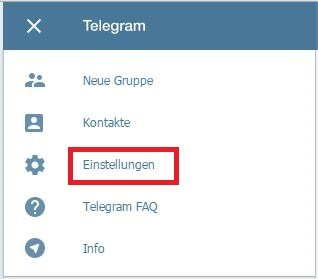 Telegram Web Abmelden