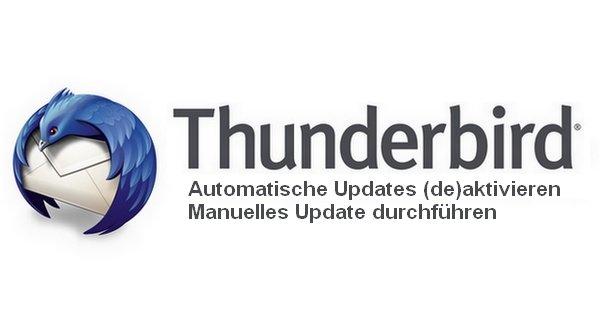 Thunderbird Aktualisiert Nicht