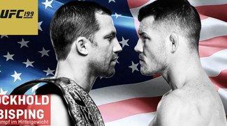 UFC 199 im Live-Stream: Rockhold vs. Bisping 2 heute online in Deutschland sehen