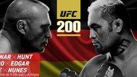UFC 200: Lesnar vs. Hunt im Live-Stream in Deutschland sehen