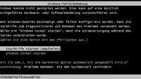 Lösung: Windows konnte nicht gestartet werden
