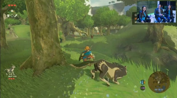 The Legend of Zelda: Wolf-Link in Breath of the Wild, Details zur Amiibo-Unterstützung (inklusive Videos)