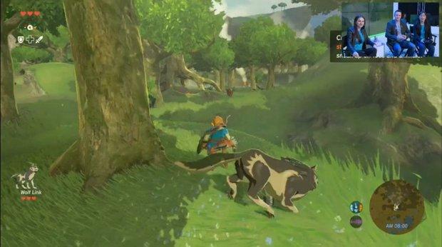 The Legend of Zelda: Wolf-Link in Breath of the Wild, Details zur Amiibo-Unterstützung (inklusive Videos)
