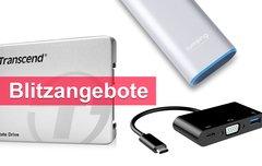 Blitzangebote:<b> USB-C-VGA-Adapter, externer Akku, interne SSD u.v.m. heute günstiger</b></b>
