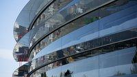 Apple Campus 2: Nahaufnahmen und Details zu Fenstern aus Deutschland