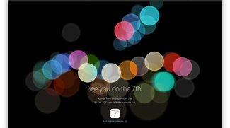 Apple Event am 7. September 2016: Liveticker und Livesendung zum iPhone 7