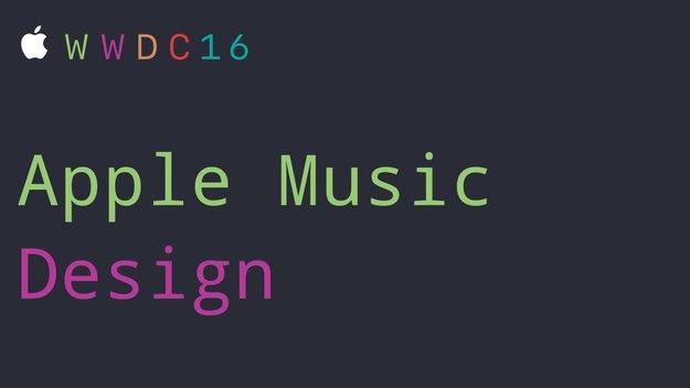 Neue Design für Apple Music