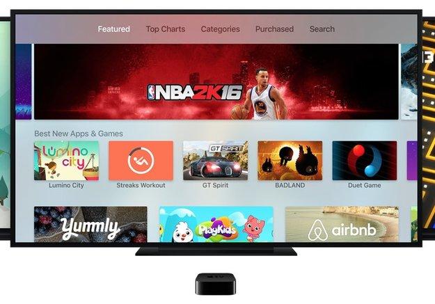 Apple TV: App Store blendet bereits geladene Apps in Charts aus