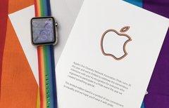 Apple nimmt mit...