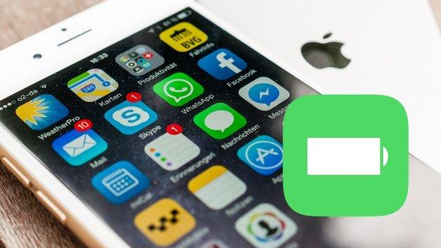 iPhone-Akku pflegen, so gehts