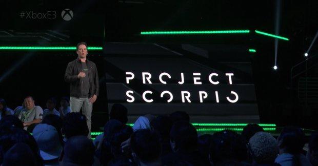 Project Scorpio: Microsoft kündigt neue Konsole für Ende 2017 an