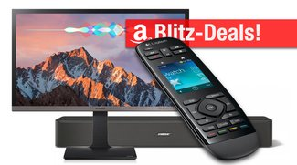 Blitzangebote: 4K Monitor, Harmony Touch, Bose Soundbar u.v.m. nur heute günstiger