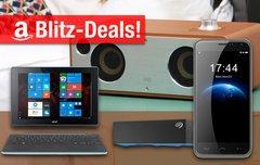 Blitzangebote:<b> AirPlay-Lautsprecher, Win 10 Convertible, 8TB Festplatte, HOMTOM HT3 Smartphone u.v.m. zum Bestpreis</b></b>