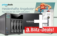 Blitzangebote:<b> 2TB SSD, 4-Bay NAS, USB-Reiseladegerät u.v.m. nur heute günstiger + Prime Deals</b></b>