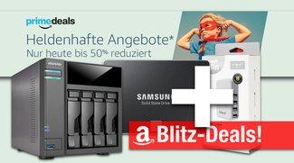 Blitzangebote: 2TB SSD, 4-Bay NAS, USB-Reiseladegerät u.v.m. nur heute günstiger + Prime Deals
