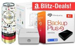 Blitzangebote:<b> Büchsenbier, WLAN-Steckdose, AirPlay-Adapter, 6TB-Festplatte u.v.m. zum Bestpreis</b></b>
