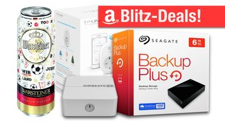 Blitzangebote: Büchsenbier, WLAN-Steckdose, AirPlay-Adapter, 6TB-Festplatte u.v.m. zum Bestpreis