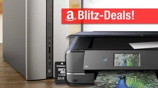 Blitzangebote: 32GB micro SD, 8TB Festplatte, DIN A3 AirPrint-Drucker, PC mit B&O Sound u.v.m. nur heute günstiger