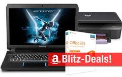 Blitzangebote:<b> Office 365, Gaming-Notebook, AirPrint-Drucker, 4TB-Festplatte u.v.m. heute kurze Zeit zum Bestpreis</b></b>