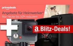 Blitzangebote:<b> Android-6.0-Smartphone mit Fingerprint, GoPro Hero+, WLAN-Kamera + Prime Deals</b></b>