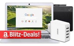 Blitzangebote:<b> FullHD-Chromebook, Wacom Intuos Photo, LTE-Router, USB-Ladegerät u.v.m. nur heute günstiger</b></b>
