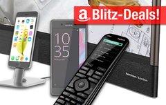 Blitzangebote:<b> iPhone-Dock, Curved-TV mit Harman Kardon Sound, Logitech Harmony 950, Sony Xperia X u.v.m. zum Bestpreis</b></b>