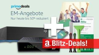 Blitzangebote: EM-Prime-Deals + 6TB Festplatte, DVB-T2 Receiver, iPhone-4-Akku und noch mehr heute billiger