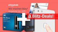 Blitzangebote: 8 TB NAS und Festplatte, Fingerprint-Smartphone, 64 GB Ultra microSD günstiger + Prime Deals