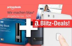 Blitzangebote:<b> 8 TB NAS und Festplatte, Fingerprint-Smartphone, 64 GB Ultra microSD günstiger + Prime Deals</b></b>
