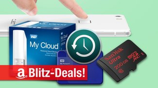 Blitzangebote: 200GB microSD, NAS, mobile Festplatte, Cubot-Smartphone mit Fingerabdrucksensor u.v.m.