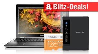 Blitzangebote: Convertible Notebook, mobile Festplatte, NAS, 128GB micro SD und vieles mehr