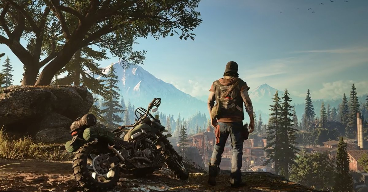 Days Gone 4k Screenshots Von Der Ps4 Pro Giga