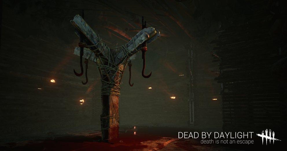 Hängt ihr an diesen Fleischerhaken, kann euch ein Freund helfen. Macht er das nicht, werdet ihr sterben.