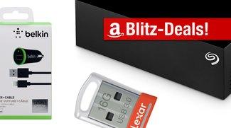 Blitzangebote: 4-TB-Festplatte, USB-Stick, Kfz-Ladegerät und mehr heute günstiger
