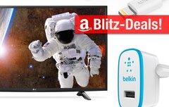 Blitzangebote:<b> Ladegeräte, 43-Zoll-TV, wasserdichte iPhone-Hülle u.v.m. heute günstiger</b></b>
