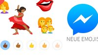Facebook: Neue Emojis mit Hauttönen und komplett andere Smileys