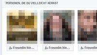 Facebook: Freundschaftsvorschlag sehr gruselig! Woher kommen sie? Wie deaktivieren?