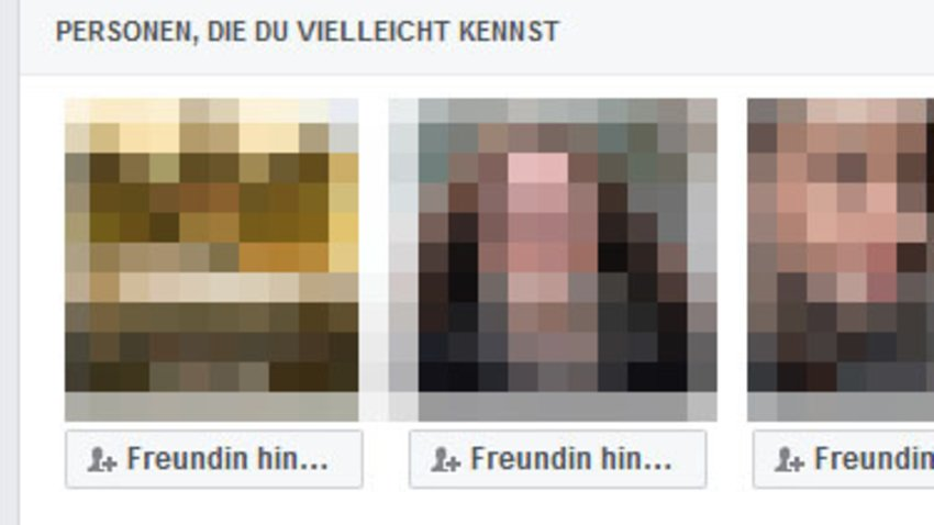 Facebook Freundschaftsvorschläge