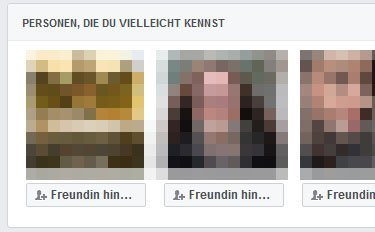 Facebook: Freundschaftsvorschläge sehr gruselig! Woher kommen sie? Wie deaktivieren?