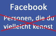 Facebook: Personen die du...