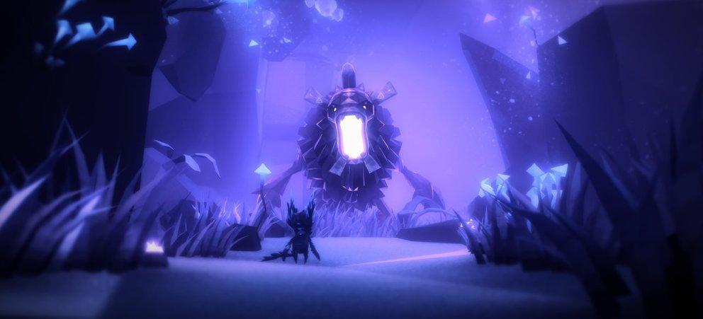 Erinnert ein bisschen an Ori and the Blind Forest: Fe.