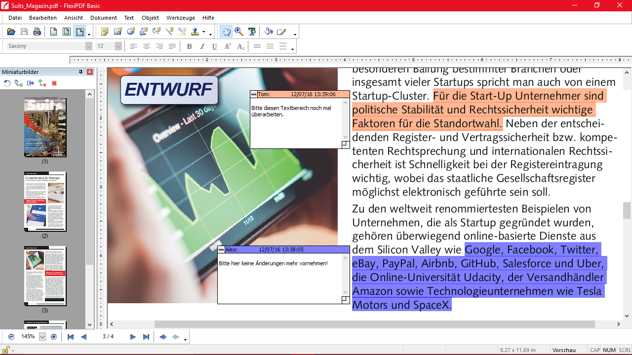Ein PDF bearbeiten – mit Programmen und online – GIGA