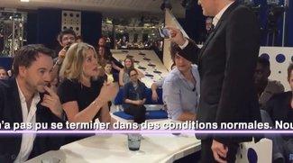 Französische Talkshow macht nach Stromausfall mit iPhones weiter